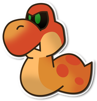 Paper Mario Sticker Star Unused Enemy by Fawfulthegreat64