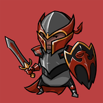 Dota Fanart v2 - Dragon Knight by KidneyShake