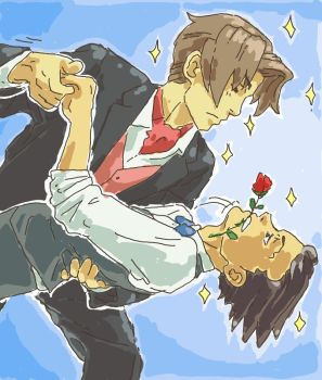 Edgeworth takes the Lead by Trillzey