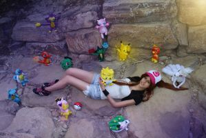 cosplay pokemon Hilda 1
