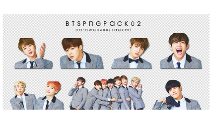 02 / BTS PNG PACK 02 by NWE0408