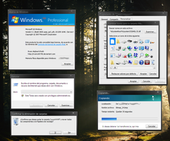 Windows XP Shell32.dll re-styled 3 variations by RivenRoth740
