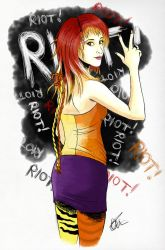 Hayley Williams by viper456