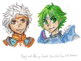 Boey and Alm by DreagonArchives