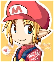 Mario Link by BettyKwong