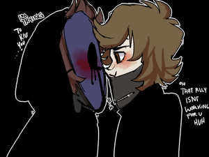Masked Love (Eyeless Jack x Ticci Toby) by shadowdust1209 on DeviantArt