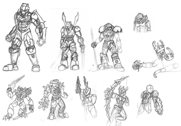 Massive Sketchdump Part II - G2 by 0nuku