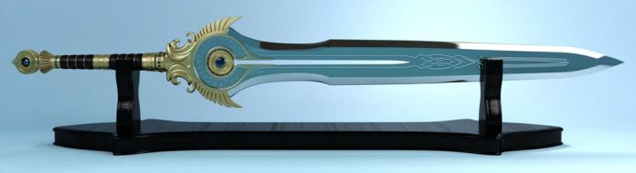 Rift Guardians Warrior Greatsword by schaten