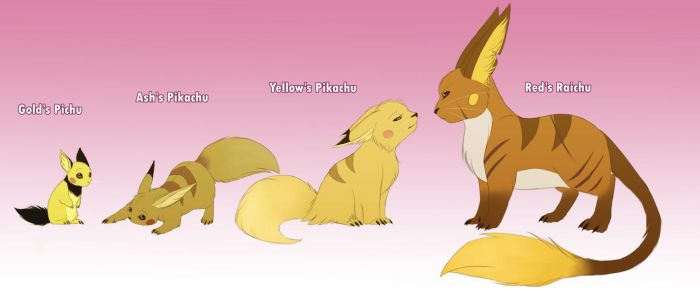 Pokemonster - some Chu's by MissMagnificent
