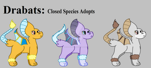CLOSED Drabat Adopts by EeveeLoveHeart