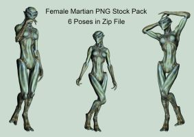 Female Martian by Roy3D