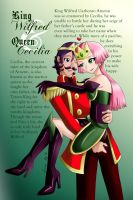 Ch 3 Profiles: The King and Queen by ninjapink