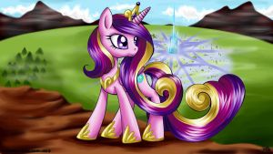 Cadance - Crystal Empire by Mana-Kyusai