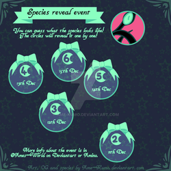 Christmas event - species reveal calendar #1 by Ame-Kumo
