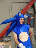 Sonic - Florida Supercon 2012 by StephieLuff