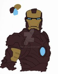 Ironman Basic coloring by gfield35