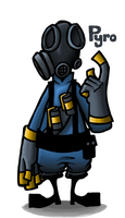 Team Fortress 2: Pyro by MichaelFay