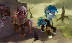 The Wanderers [commission] by JedaySkayVoker