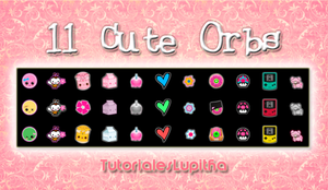 11 Orbs Cute! by tutorialeslupitha