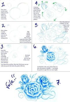 Rose Tutorial for ZGERCAX by VoicelessCry