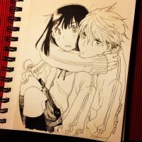 What's up? - Inktober.14 2015-10-20 by lita426t