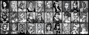 Sketchcards Like Crazy by BigChrisGallery