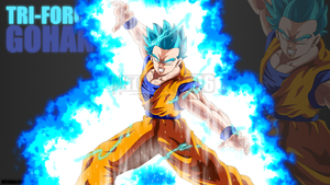 Tri-Force Gohan by Mitchell1406