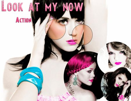 Look at me now actn. by MileyBieberWorld