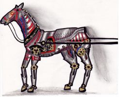 Horse by TheMachineFactory