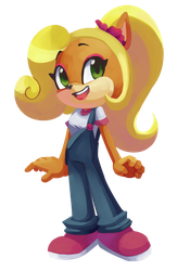 Coco Bandicoot by CuteyTCat