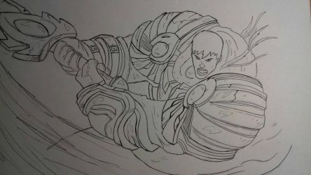 Garen - League of Legends by R1ckyFri3s