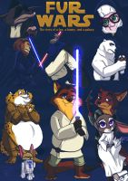 Fur Wars: colored by Jessica-Rae-3