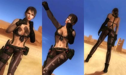 DOA5LR: Quiet Cosplay by AVGNJr1985