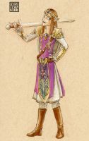 Zelda the Hero of Hyrule by lissa-quon