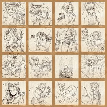 Survey Request Sketches! by Ringo-Mikan