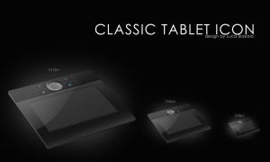 classic tablet icon by bisiobisio