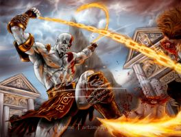 God of war 2 , the Return by VinRoc