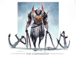 The Commander by jeffchendesigns