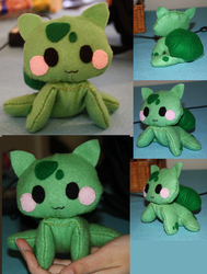 Bulbasaur Plush by JirachiLegend