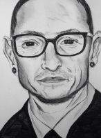 Chester bennington  by camilleroc