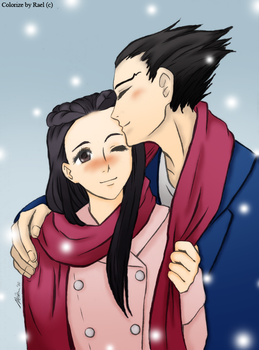 Iris and Nick - colorize by Rael-chan89
