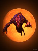 Garzo  - Red Moon by juliodelrio