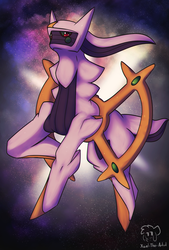 The God of Everything by Xael-The-Artist