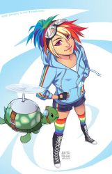 MLP: Rainbow Dash by finni