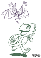 Yooka And Laylee by BrokenSpaghetti