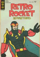 Commission: Retro Rocket by Hartter