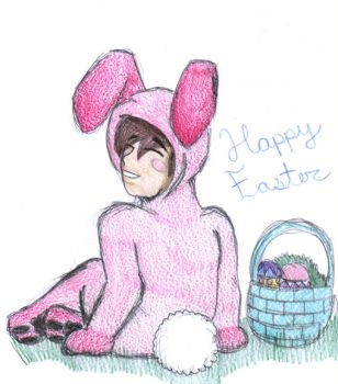 The Easter Bunny by timmy-turner