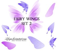 Fairy Wings set 2 by Lileya