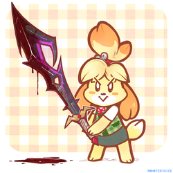 She's ready for Smash bitch!!!! by Rosemary-the-Skunk