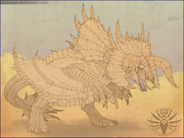 The Roaring Dune - Diablos by Skysealer